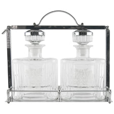 Scotch & Bourbon Decanter Tantalus | The Hour Shop Vintage