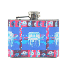 Lincoln Memorial Flask, The Hour Shop Barware