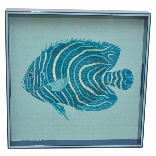 Angel Fish Lacquer Tray