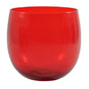 Ruby Red Roly Poly Glasses