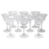 Vintage Tiffin Etched Cherokee Rose Cocktail Glasses | The Hour Shop