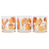 Vintage Culver Gold and Orange Seashell Rocks Glasses Pattern | The Hour Shop