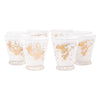 Fred Press Gold Rooster Single Old Fashioned Glasses