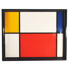Pacific Connections Mondrian Inspired Lacquer Tray, The Hour Shop
