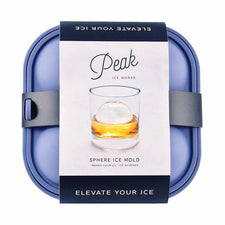 Peak Sphere Ice Mold Tray, Blue, W & P | The Hour Shop