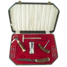 Vintage Viners Ltd. Stag Bar Tool Set, The Hour Shop Barware