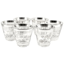 Georges Briard Sterling Overlay Glasses