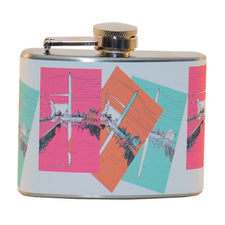 Washington Monument Hip Flask, The Hour Shop Barware