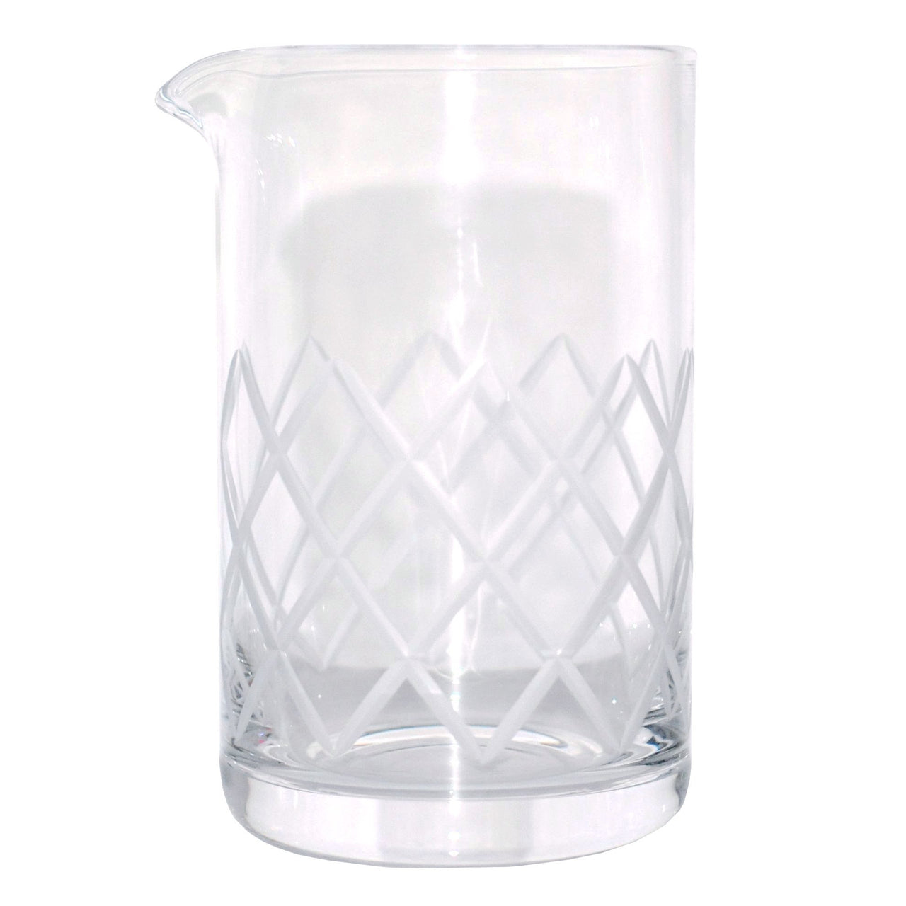 Rona Diamond Cut Crystal Cocktail Mixing Pitcher, The Hour Shop
