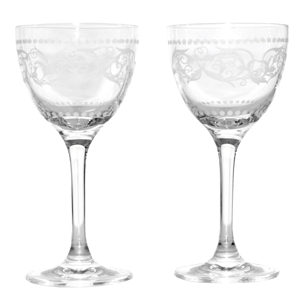 Rona Steelite Nick & Nora Cocktail Glasses, The Hour Shop