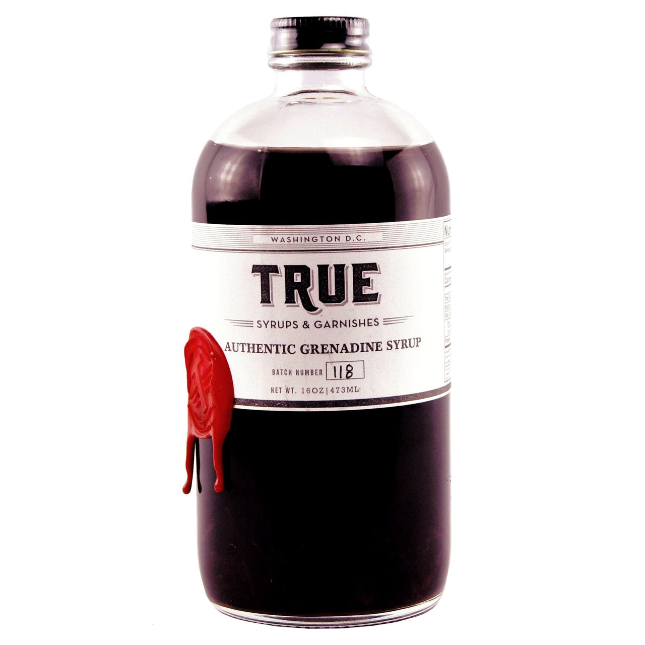 True Grenadine Syrup, The Hour Shop Cocktail Barware Syrups