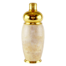 Aldo Tura Gold Trim Cocktail Shaker