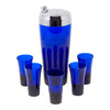 Cobalt Blue Cocktail Shaker Set