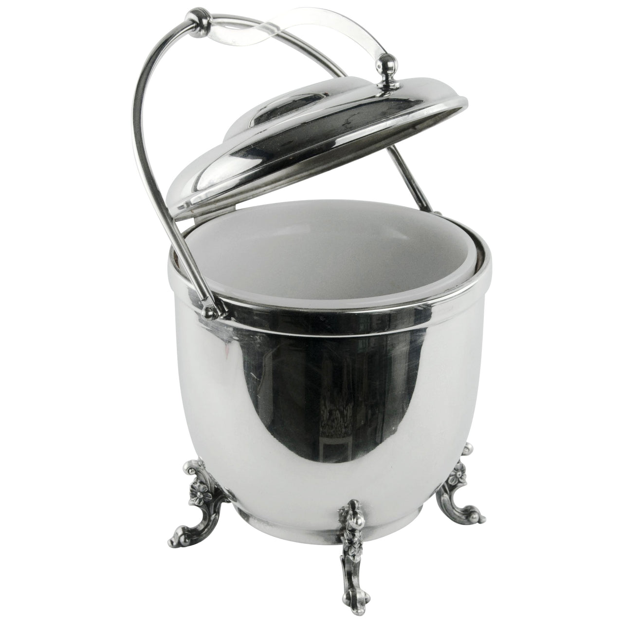 Sheridan Silver Plate Ice Bucket | The Hour Shop Vintage Barware