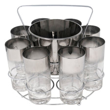Vintage Mercury Fade Ice Bucket Collins Caddy | The Hour Shop