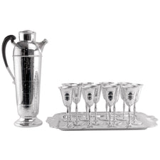 Farber Brothers 14 Pc. Chrome Cocktail Shaker Set