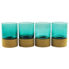 Gary Bodker Hand Blown Rocks Glasses | The Hour Shop