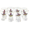 Crystal Equestrian Cocktail Glasses | The Hour Shop Vintage
