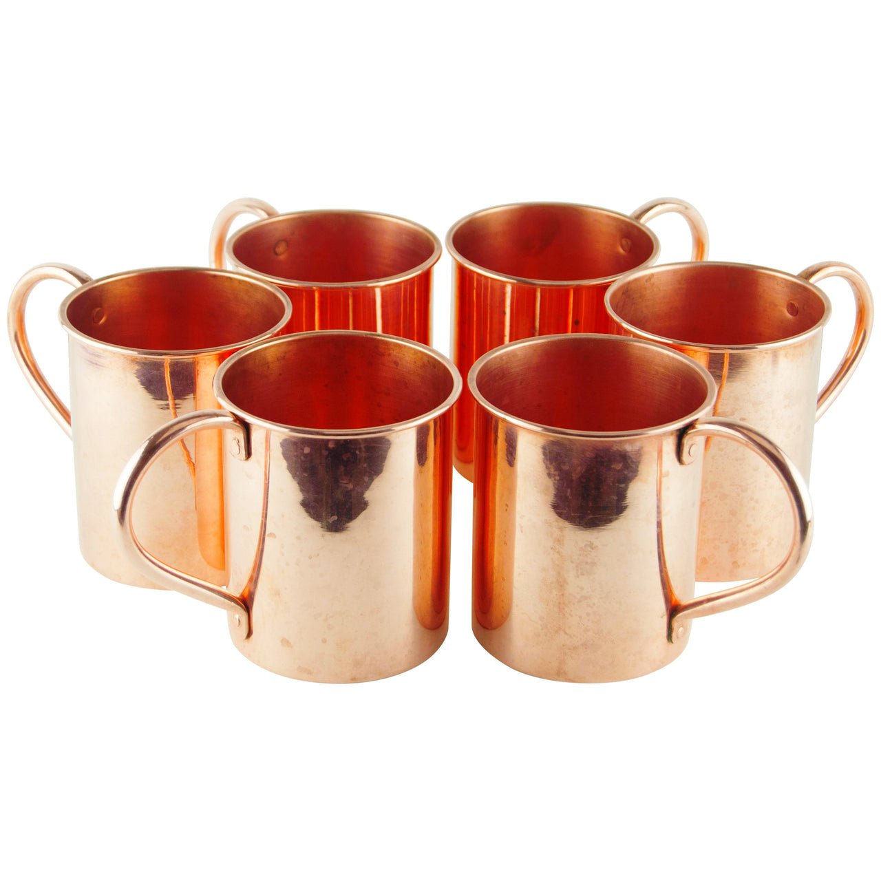 Large Copper Mug Set | The Hour Shop Vintage Moscow Mules