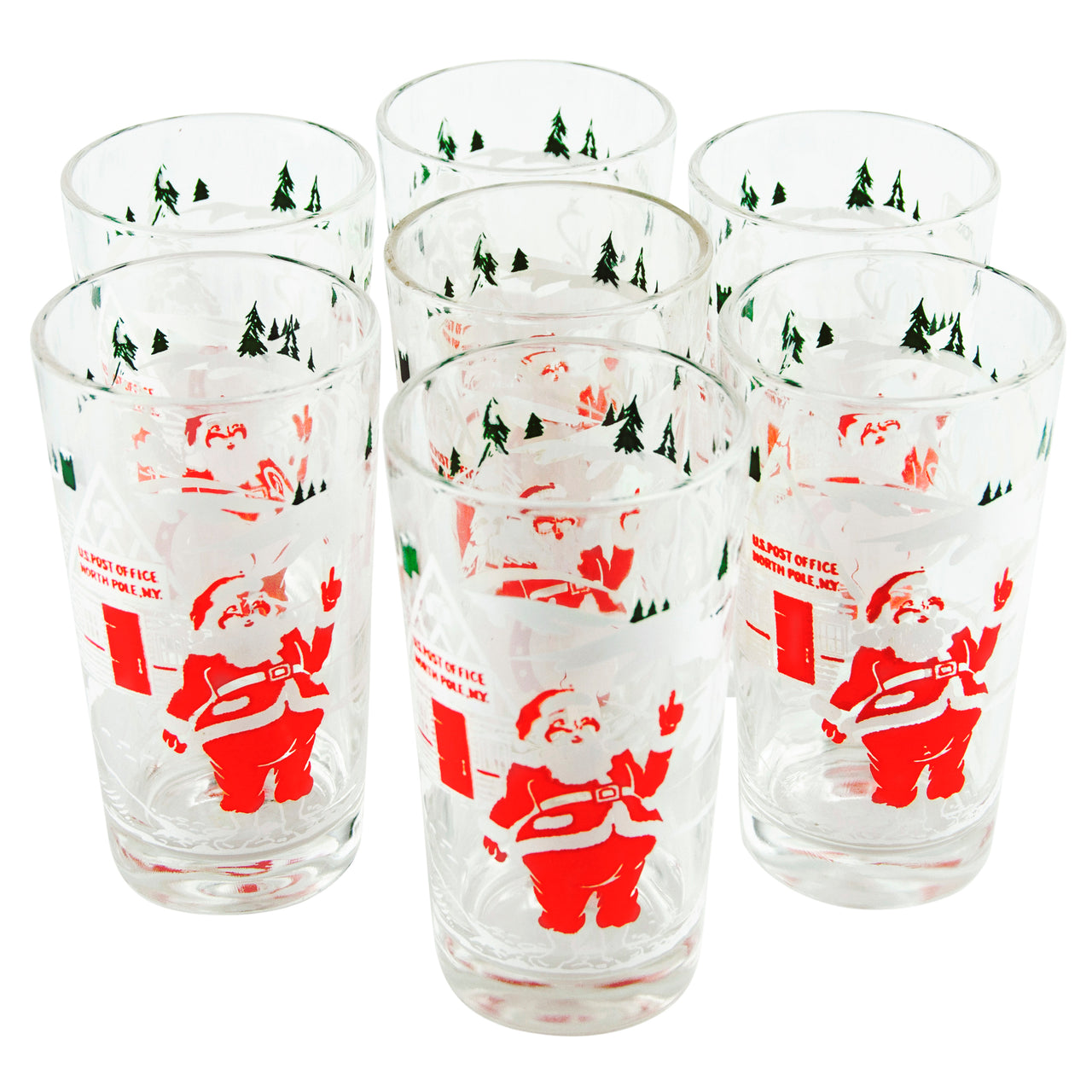 Santa In North Pole Tumblers