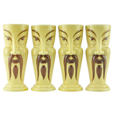 Orchids of Hawaii Fu Manchu Tiki Mugs | The Hour Shop Vintage