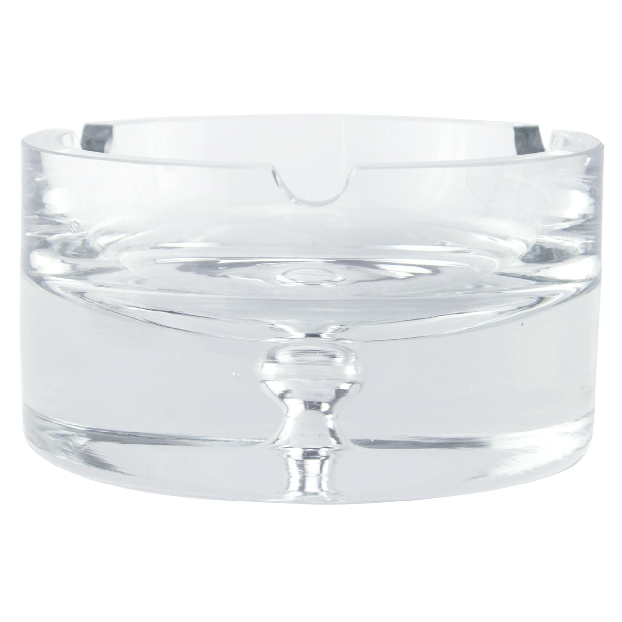 Bubble Base Cut Crystal Ashtray | The Hour Shop Vintage