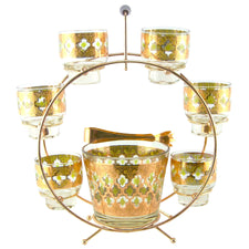 Vintage Culver Valencia Ferris Wheel Caddy Set, The Hour Shop