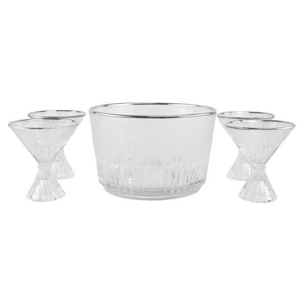 Vintage Paden City Cocktail Set, The Hour Shop Barware