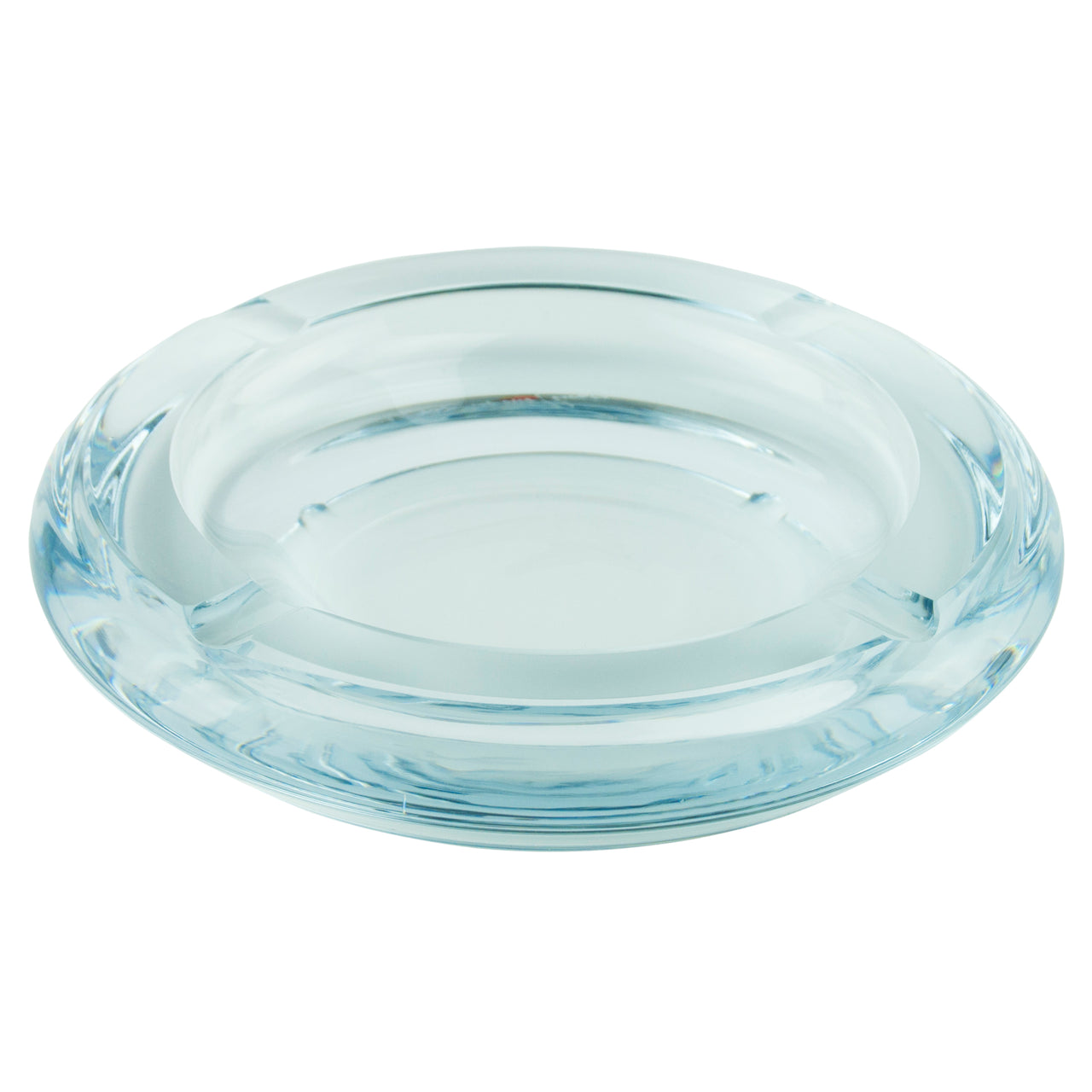 Georg Jensen Round Glass Ashtray | The Hour Shop Vintage