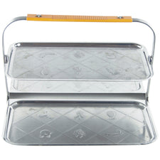 Stainless Steel & Bakelite Folding Tray
