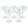 Iridescent Cocktail Glasses | The Hour Shop Vintage Glassware