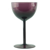 Amethyst Cocktail Coupe Glasses | The Hour Shop Vintage