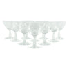 Fostoria Etched Pine Cocktail Glasses | The Hour Shop Vintage