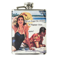 Baggage Claim Anne Taintor Flask | The Hour Shop Barware