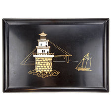 Couroc Lighthouse & Boat Tray | The Hour Shop Vintage