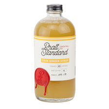 Pratt Standard True Ginger Syrup | Small Batch Made in D.C.