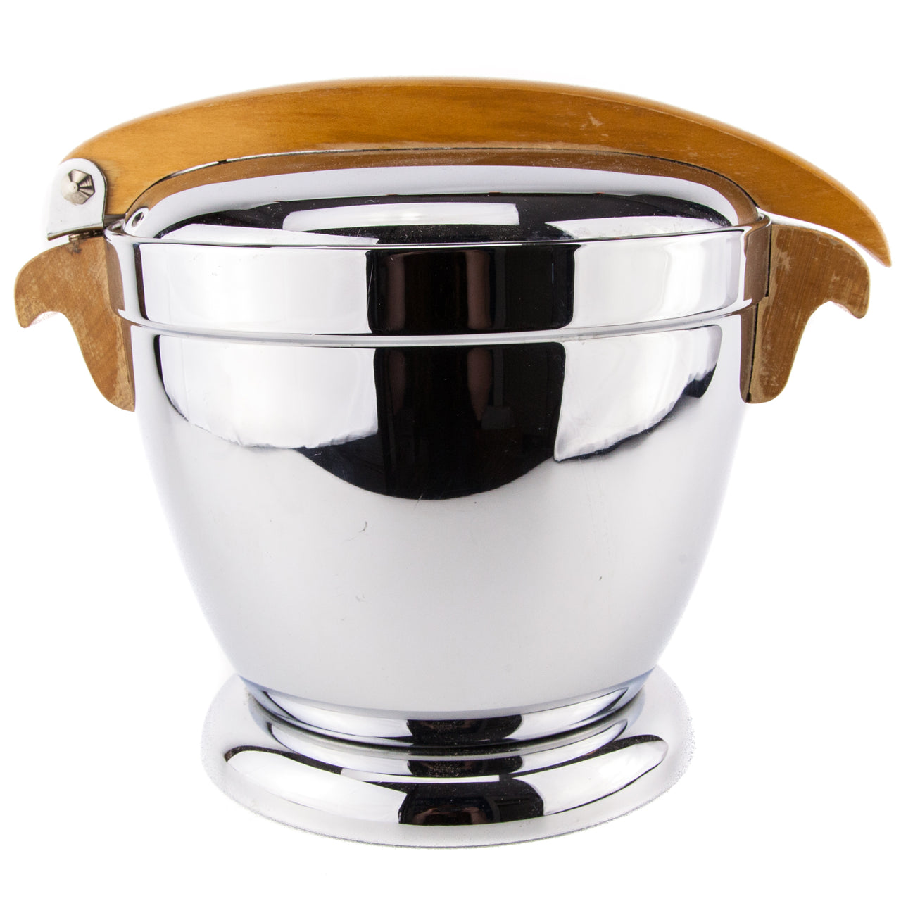Manning Bowman Wood Handle Ice Bucket | The Hour Vintage