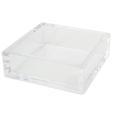 Clear Acrylic Cocktail Napkin Holder | The Hour Home Decor