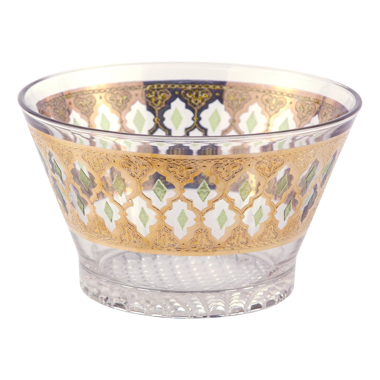 Culver Valencia Glass Ice Bucket | The Hour Shop Vintage
