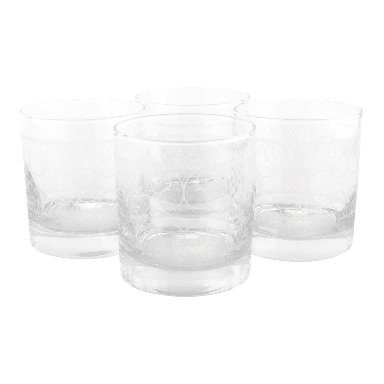 The Modern Home Bar Filigree Nouveau Rocks Glasses