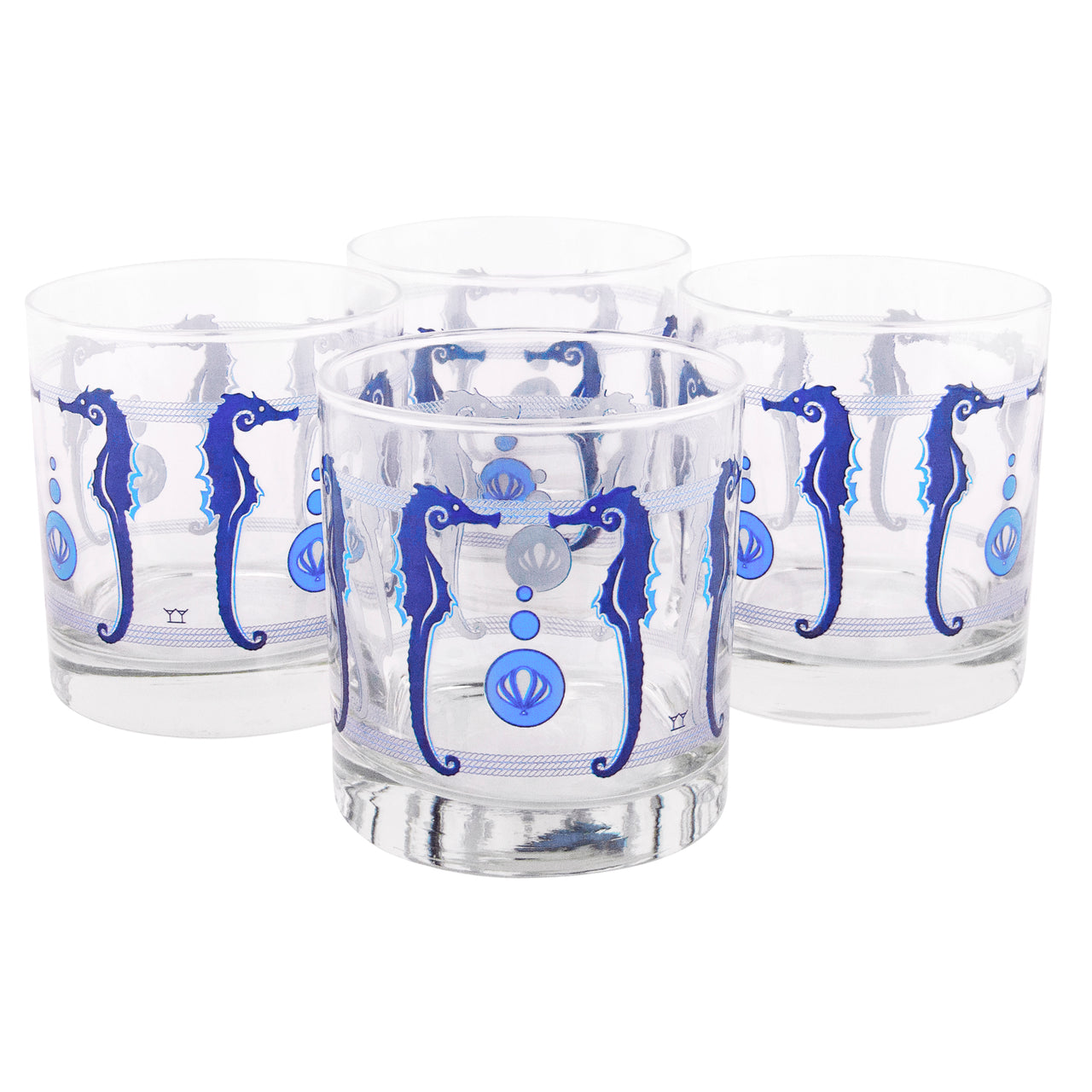 The Modern Home Bar Seahorsing Around Rocks Glasses