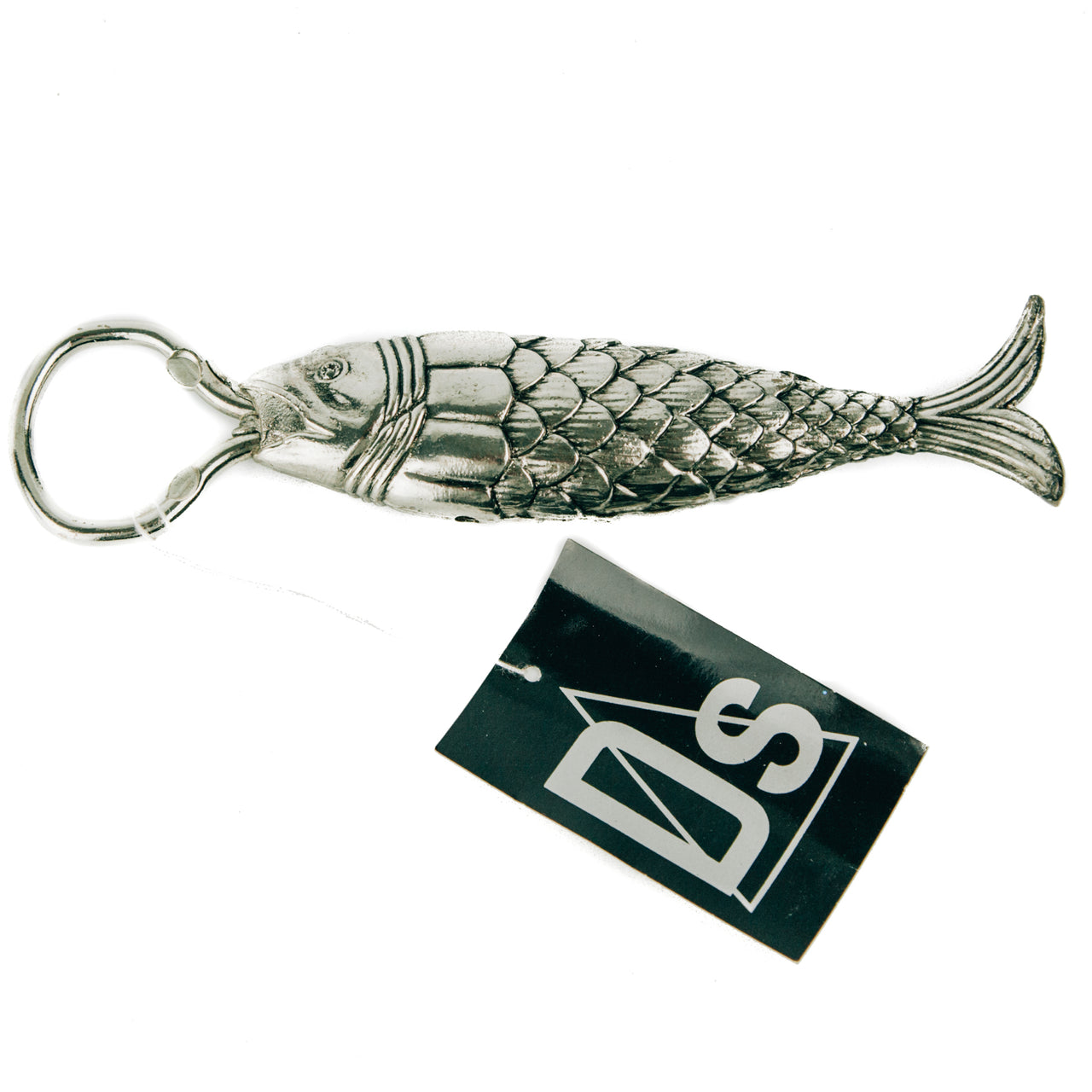 Silver Plated Fish Bottle Opener | The Hour Vintage Barware