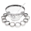 Vintage Mercury Band Punch Bowl Set Top | The Hour Shop