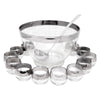 Vintage Mercury Band Punch Bowl Set | The Hour Shop