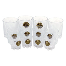 Cut Crystal Russian Glass Set | The Hour Shop Vintage Rocks