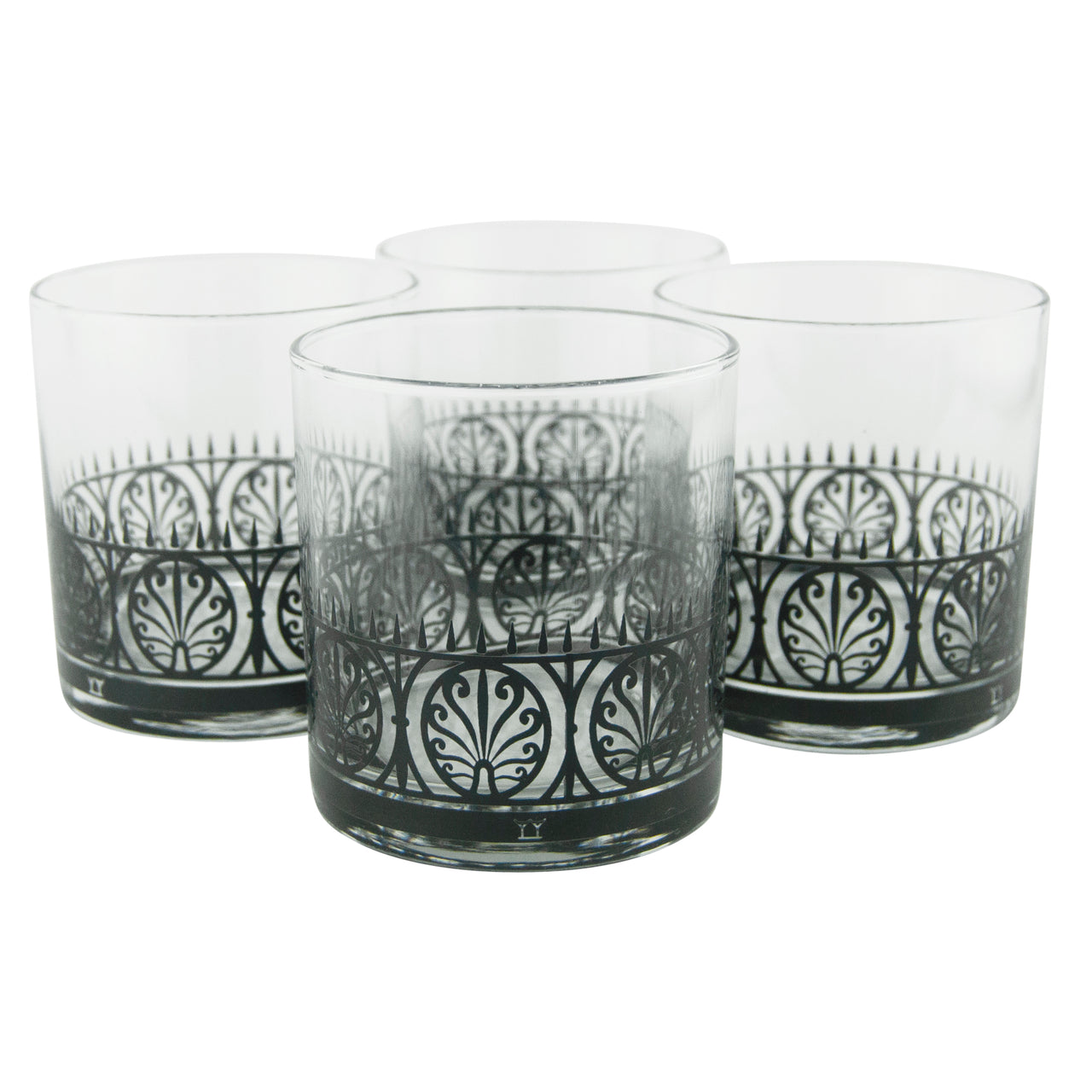 The Modern Home Bar Iron Gate Rocks Glasses