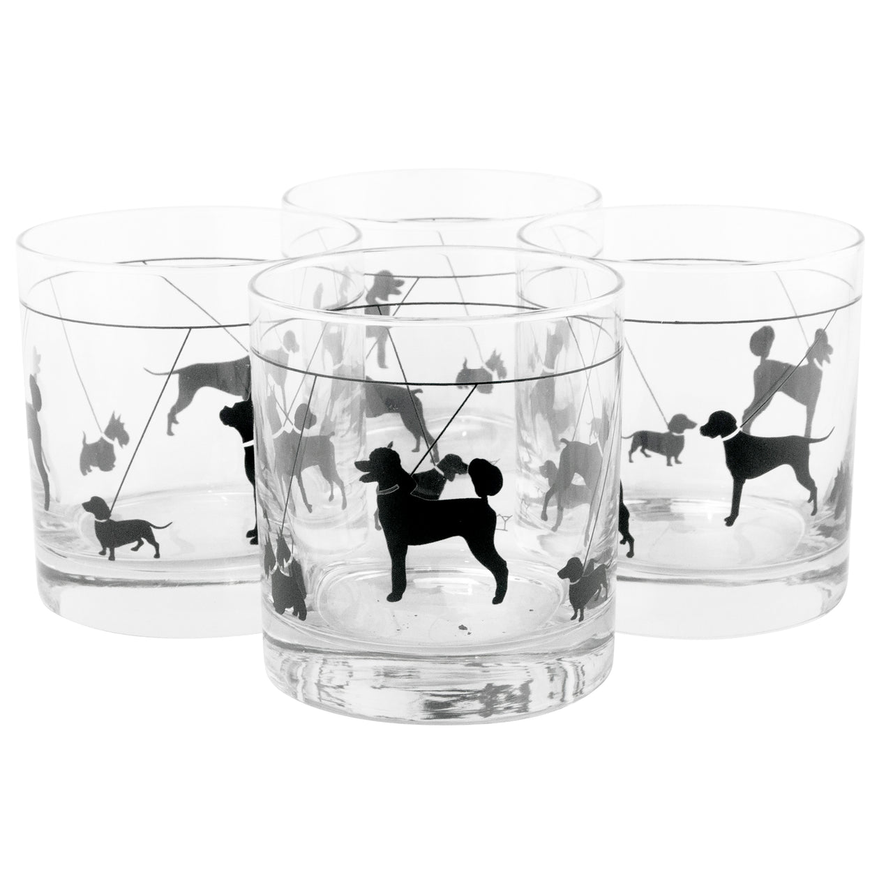The Modern Home Bar Yappy Hour Rocks Glasses