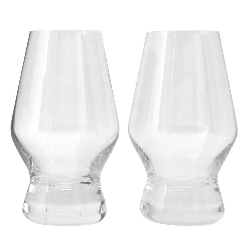 Viski Raye Crystal Scotch Nosing Glasses | The Hour Glassware