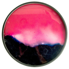 Midnight Raspberry Reverse Painted Glass Tray | The Hour Shop