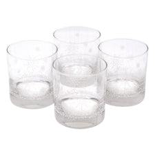 The Modern Home Bar Let It Snow Rocks Glasses